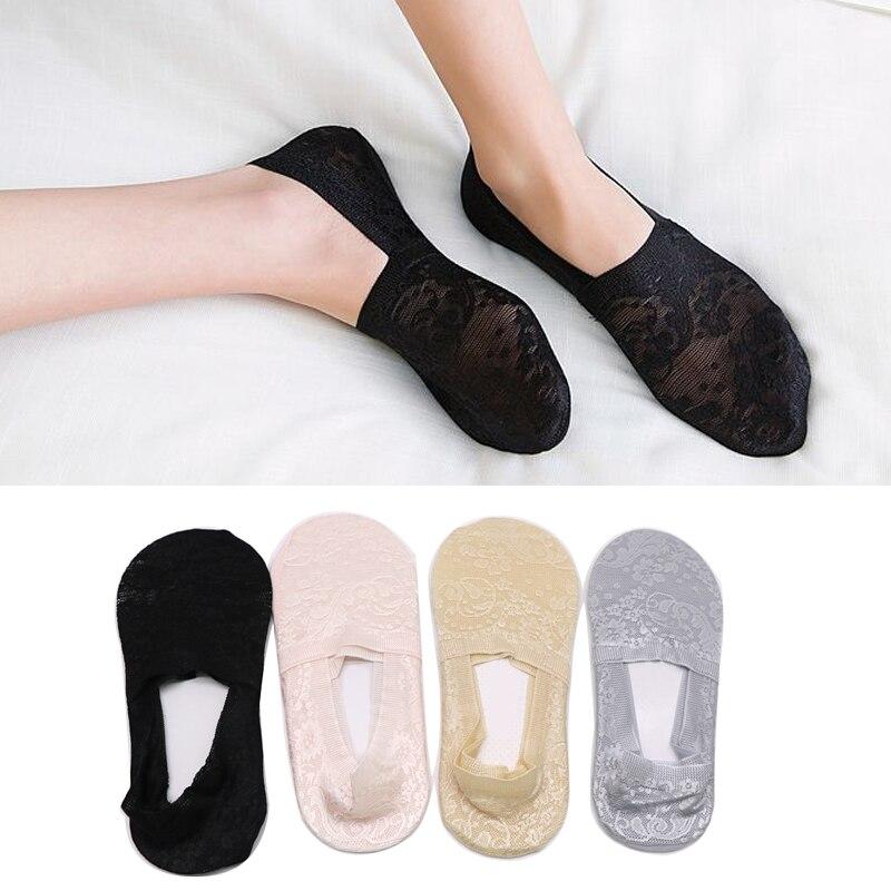 Boat Socks for Women Summer Invisible Socks No Show Non Slip Breathable Shoe Liner Boat Socks Short Sock Slippers Calcetines