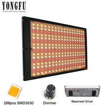 цена на 120W 240W 480W Led Grow Light Quantum Technology Full Spectrum 3000K Red 660nm With Grow Tent, For Indoor Greenhouse Plant Light