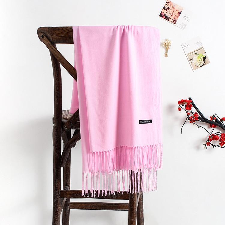 2020 Cashmere Scarf Women 2020 New Long Soft Shawls And Wraps Foulard Pashmina Fashion Tassels Hijab Femme Neck Scarves
