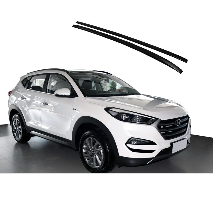 high quality fit for hyundai all new tucson 2015 2016 2017 2018 2019 top roof rail roof rack