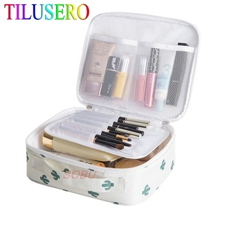 Printing Makeup Bags With Multicolor Pattern Women Cosmetic bag Case Make Up Organizer Toiletry Storage Travel Wash Pouch 1