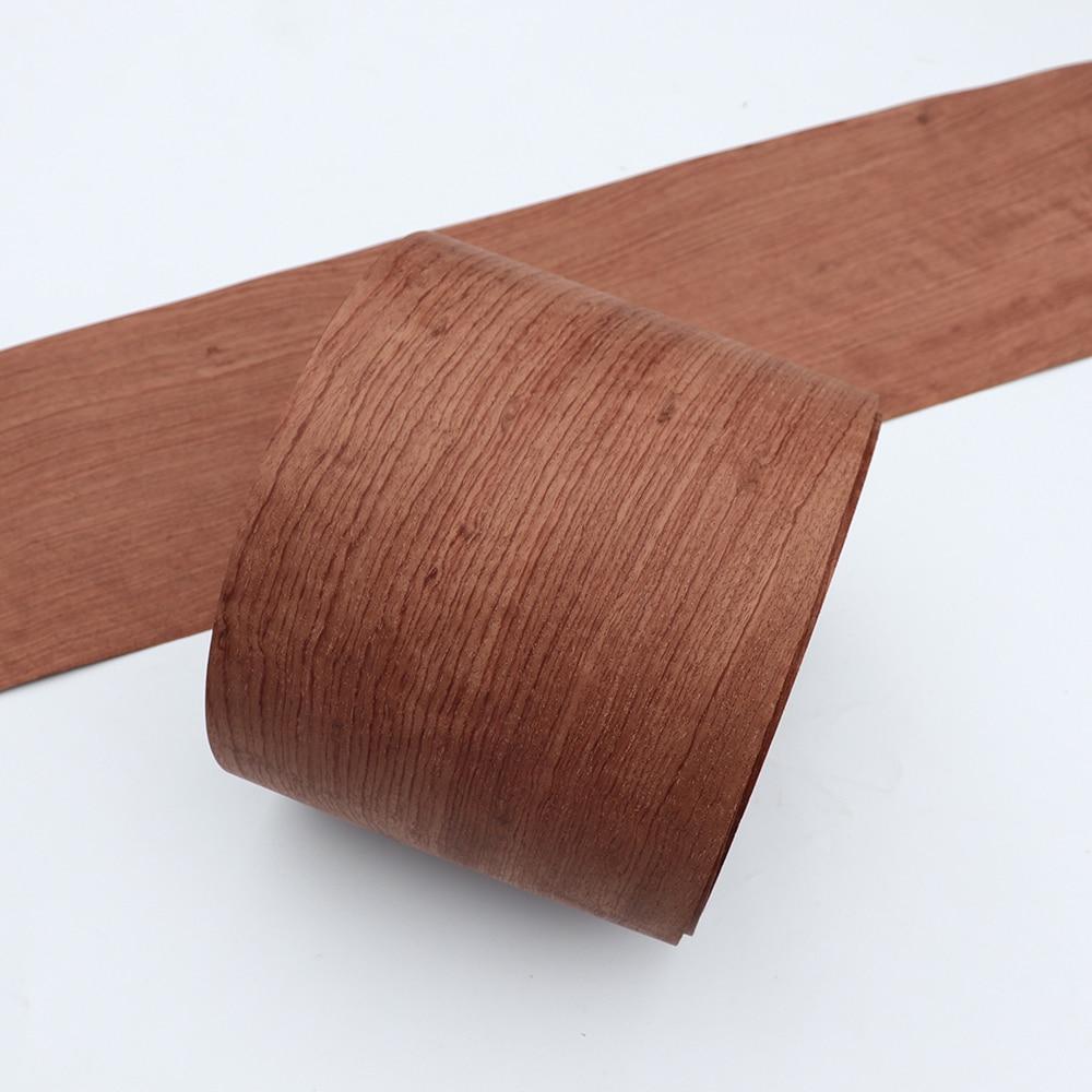 2x Natural Veneer Genuine Wood Decorative Sliced Rosewood Veneer For Furniture 0.5mm Thick 20cm X 3m