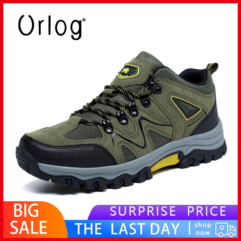 High Quality Men Boots Winter Men Casual Breathable Safety Shoes Boots Mountain Climbing Shoes Outdoor Sport Trekking Boots