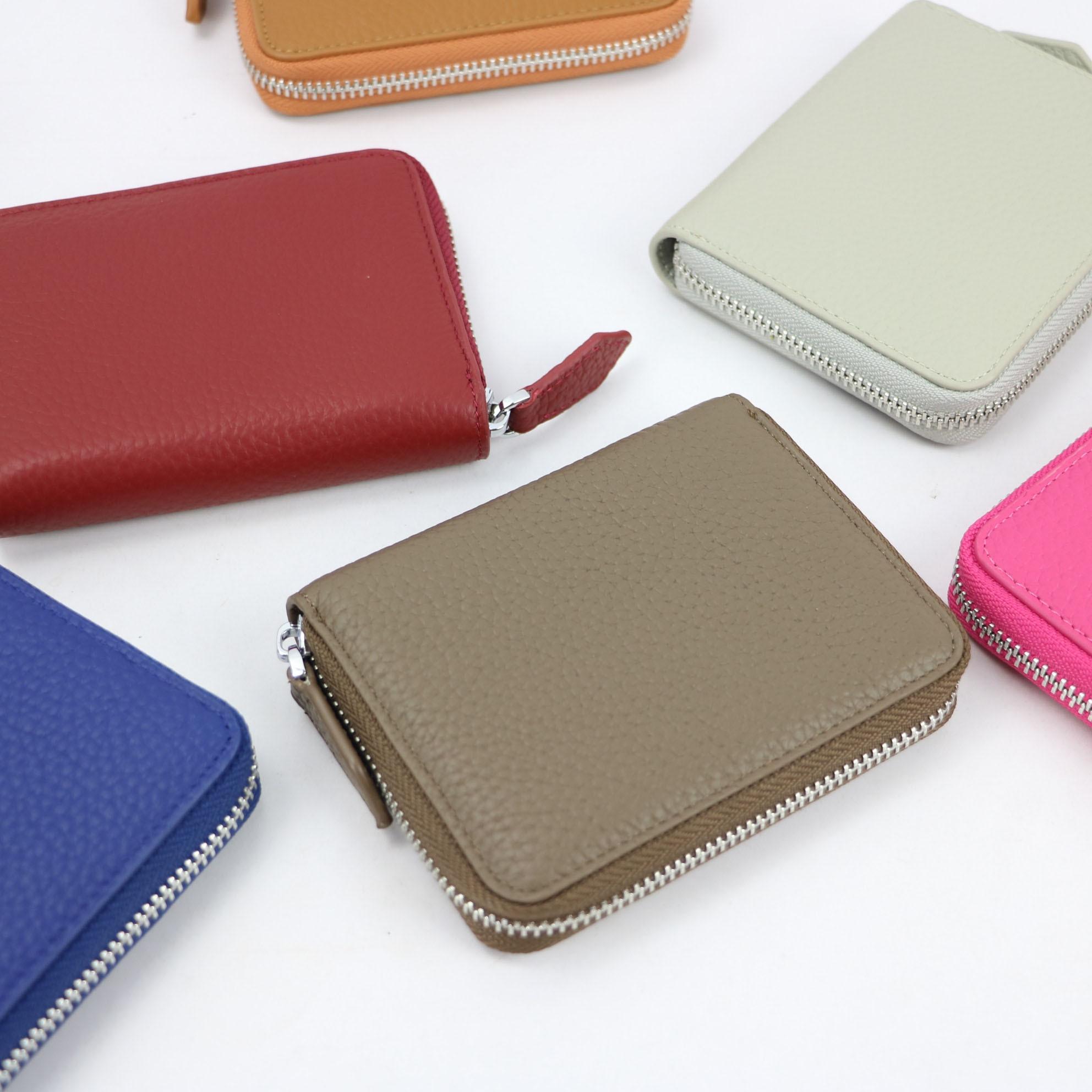 Модный Индивидуальный кошелек из натуральной кожи на молнии, женский роскошный короткий кошелек, клатч, Женский дизайнерский кошелек|Кошельки| | АлиЭкспресс