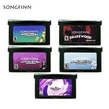 אנגלית גרסה Moemon אמרלד Snakewood אולטרה סגול עבור 32 קצת משחק וידאו מחסנית קונסולת כרטיס כף יד נגן