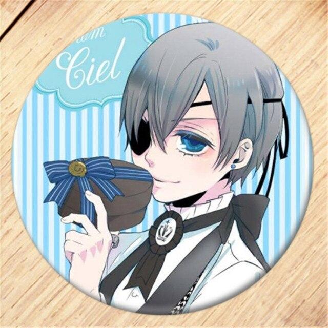 Free Shipping Anime Black Butler Brooch Pin Cosplay Badge
