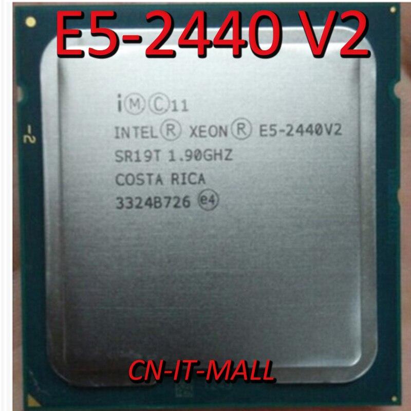 Pulled E5-2440 V2 Server Cpu 1.9G 20M 8Core 16 Thread LGA1356 Processor