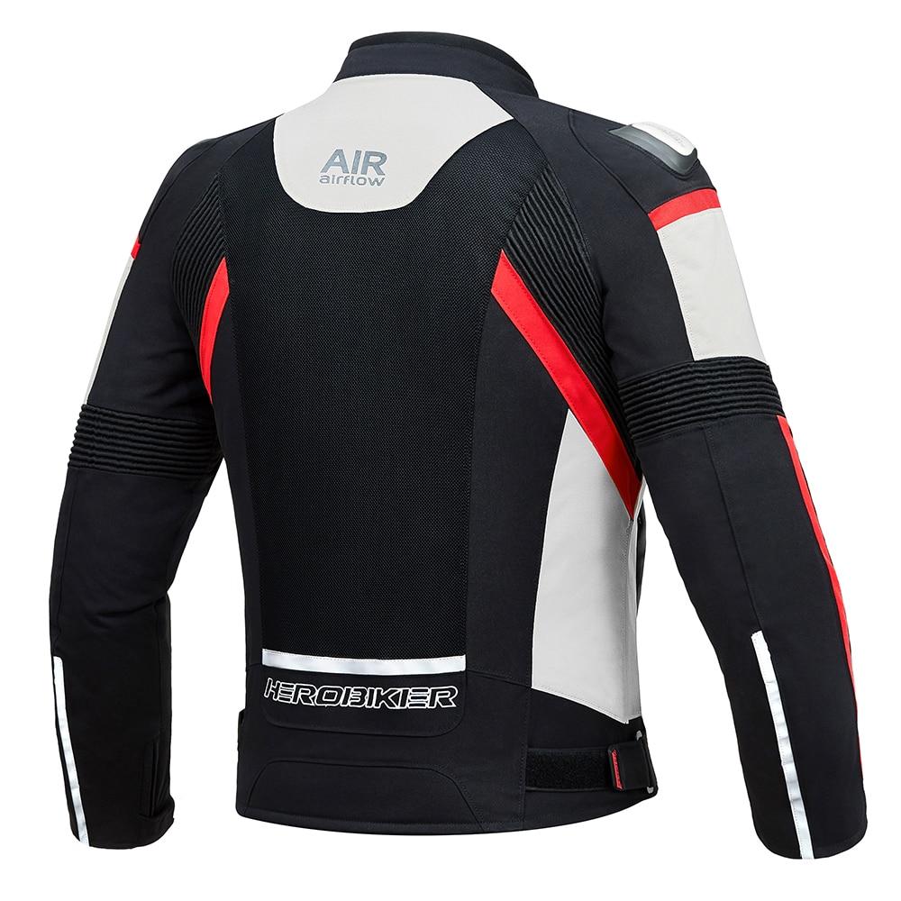 HEROBIKER automne hiver veste de Moto équipement de Protection hommes Moto Motocross hors route veste de course Moto Protection - 3