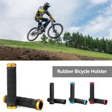 1 pair High quality Cycling Bicycle Handlebar Cover Grips Smooth Soft Anti-Skid  Rubber Handlebar Grip cover handle bar For Bike 1 pair mtb bike bicycle handle handlebar soft sponge bar grips black