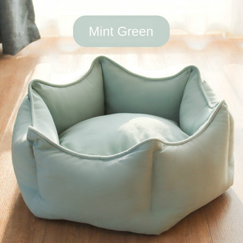 Cat Nest Winter Warm Cat Nest Cat Bed Removable and Washable Princess Bed House Four Seasons Universal Kennel Pet Supplies image