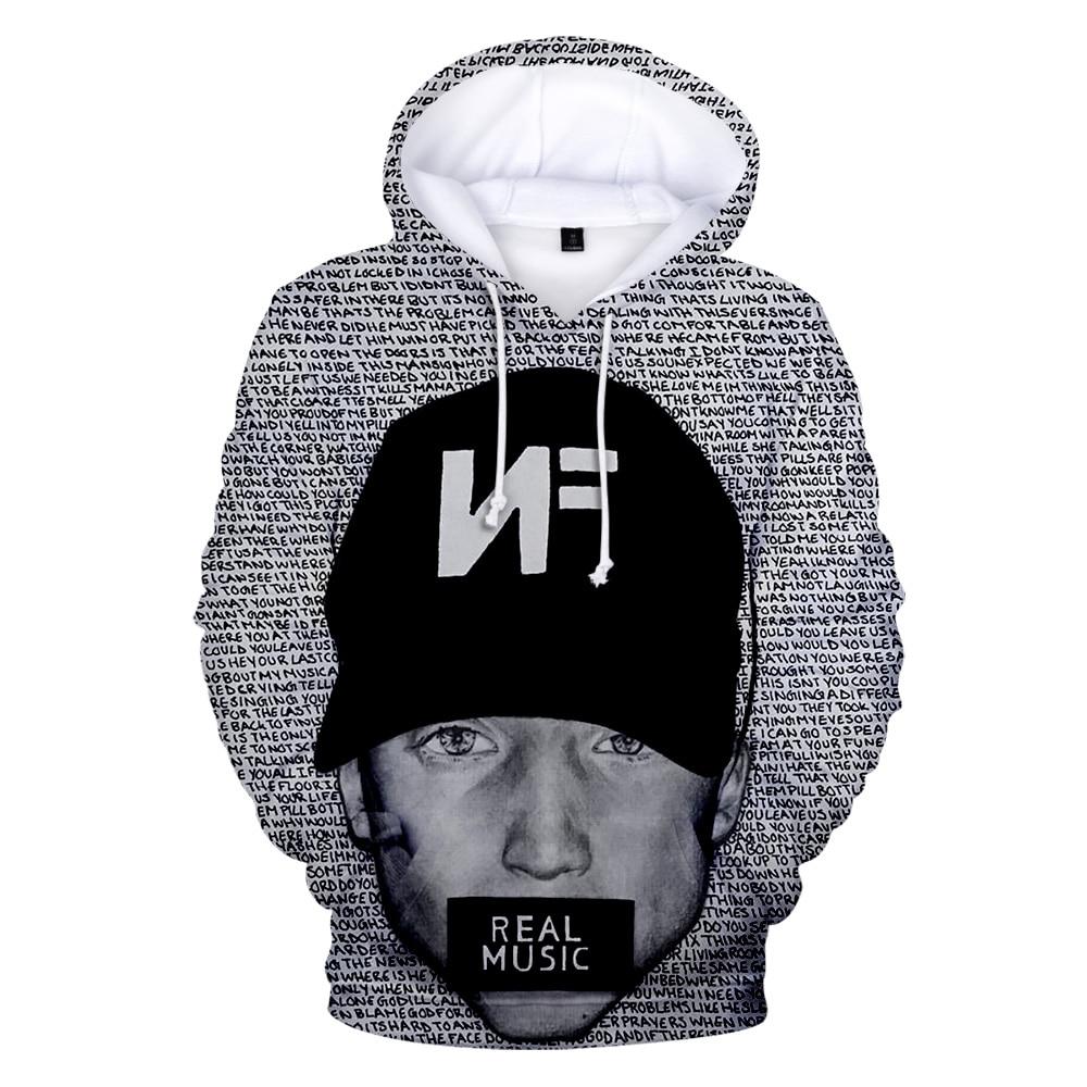NF 3D Print Fashion Casual Sweatshirts Hoodie  3