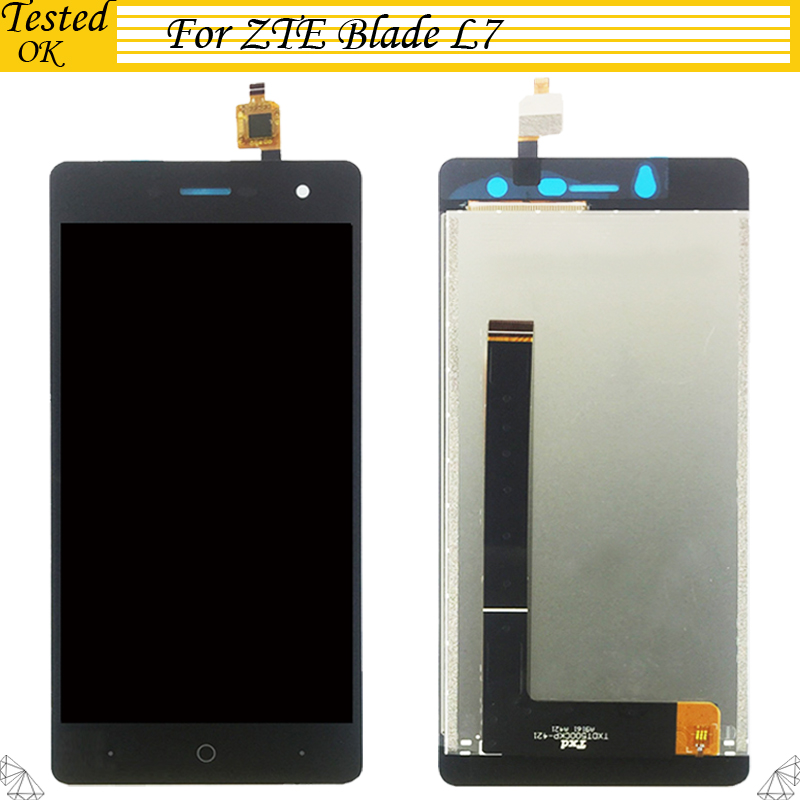 5.0 Inch For ZTE Blade L7 <font><b>LCD</b></font> Display and Touch Screen Replacement Mobile Phone Accessories For ZTE Blade L7 <font><b>A320</b></font> <font><b>LCD</b></font> Screen image