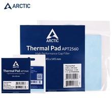 ARKTISCHEN Thermische Fett Paste CPU Kühler Cooling Pad 6,0 W/mK Leitfähigkeit 0.5/1.0/1,5mm Wärme waschbecken Mat50 * 50MM145*145MM silikon