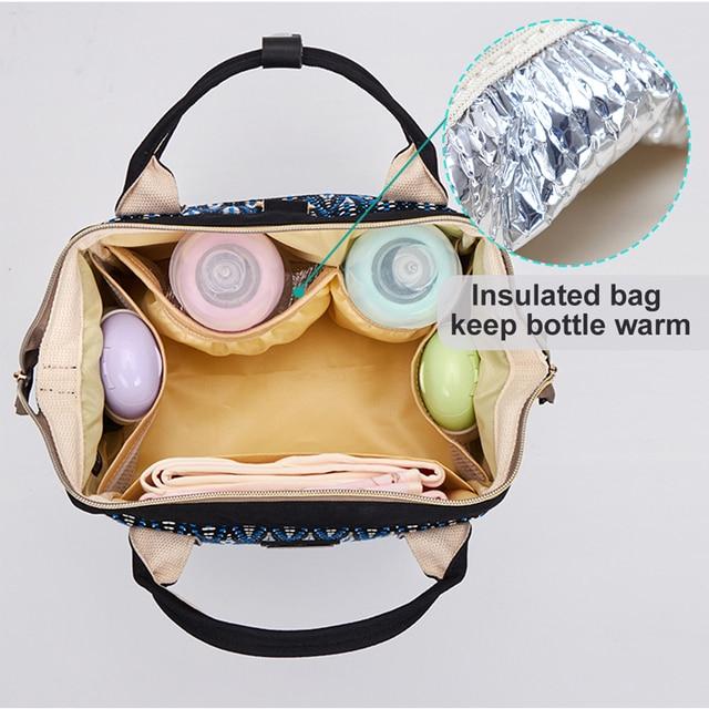 حقيبة حفاضات للأمهات حقيبة الأمومة للطفل الاشياء الصغيرة السفر حفاضات الطفل تغيير ظهره لأمي yoya عربة منظم حقيبة الطفل 4