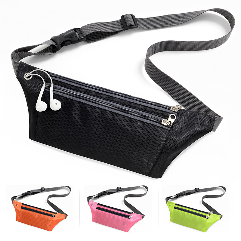 Rooxin Waist Bag Waterproof Running Bag Outdoor Sports Belt Bag Bicycle Riding Mobile Phone Waist Bag Fitness Gym Belt Bag