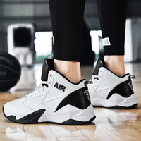 Men Shoes woman basketball Sneakers High top indoor fashion white red female sports for male trainers chunky casual trainers cushion new sale Non slip outdoor Quality couple size 6 14 unisex