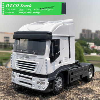 NEWRAY 1/32 Scale Truck Model Toys IVECO Stralis Truck 19cm Length Diecast Metal Car Model Toy For Gift,Collection,Decoration