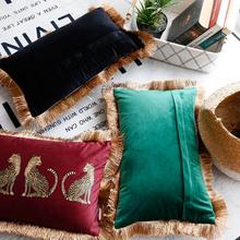 Fashion Design Slip cover Rectangle Pillow Cover Digital Printing Animal Sofa Cushion Decorative Pillows Slipcover