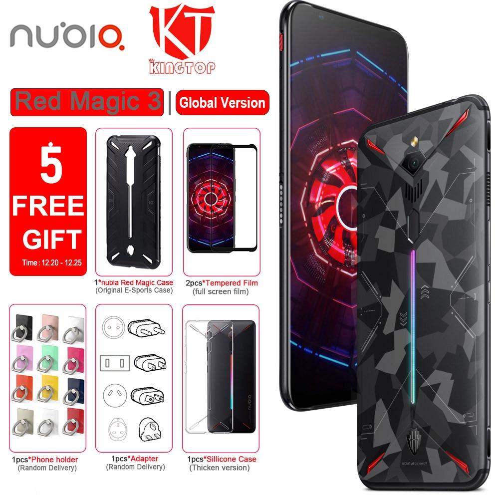 Original ZTE Nubia Red Magic 3 Mobile Phone 12G RAM 256G ROM 6.65