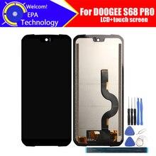5.9 cal Doogee S68 PRO wyświetlacz LCD + ekran dotykowy Digitizer zgromadzenie 100% oryginalny LCD + dotykowy Digitizer dla DOOGEE S68 PRO + narzędzia