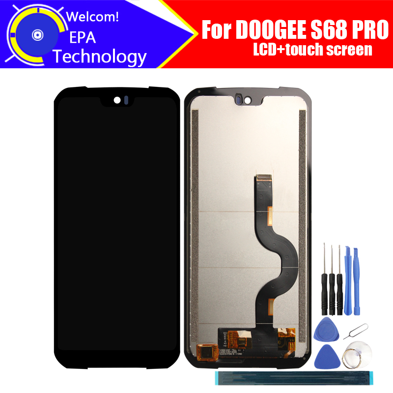 5.9 Inch Doogee S68 PRO LCD Display+Touch Screen Digitizer Assembly 100% Original LCD+Touch Digitizer For DOOGEE S68 PRO+Tools