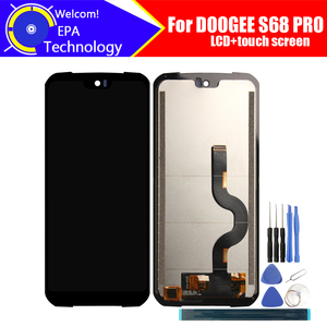Image 1 - 5.9 inch Doogee S68 PRO LCD Display+Touch Screen Digitizer Assembly 100% Original LCD+Touch Digitizer for DOOGEE S68 PRO+Tools