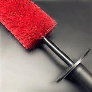 Image 5 - Lucullan pincéis para limpeza de carro, ferramentas de limpeza de borracha flexíveis com tampa