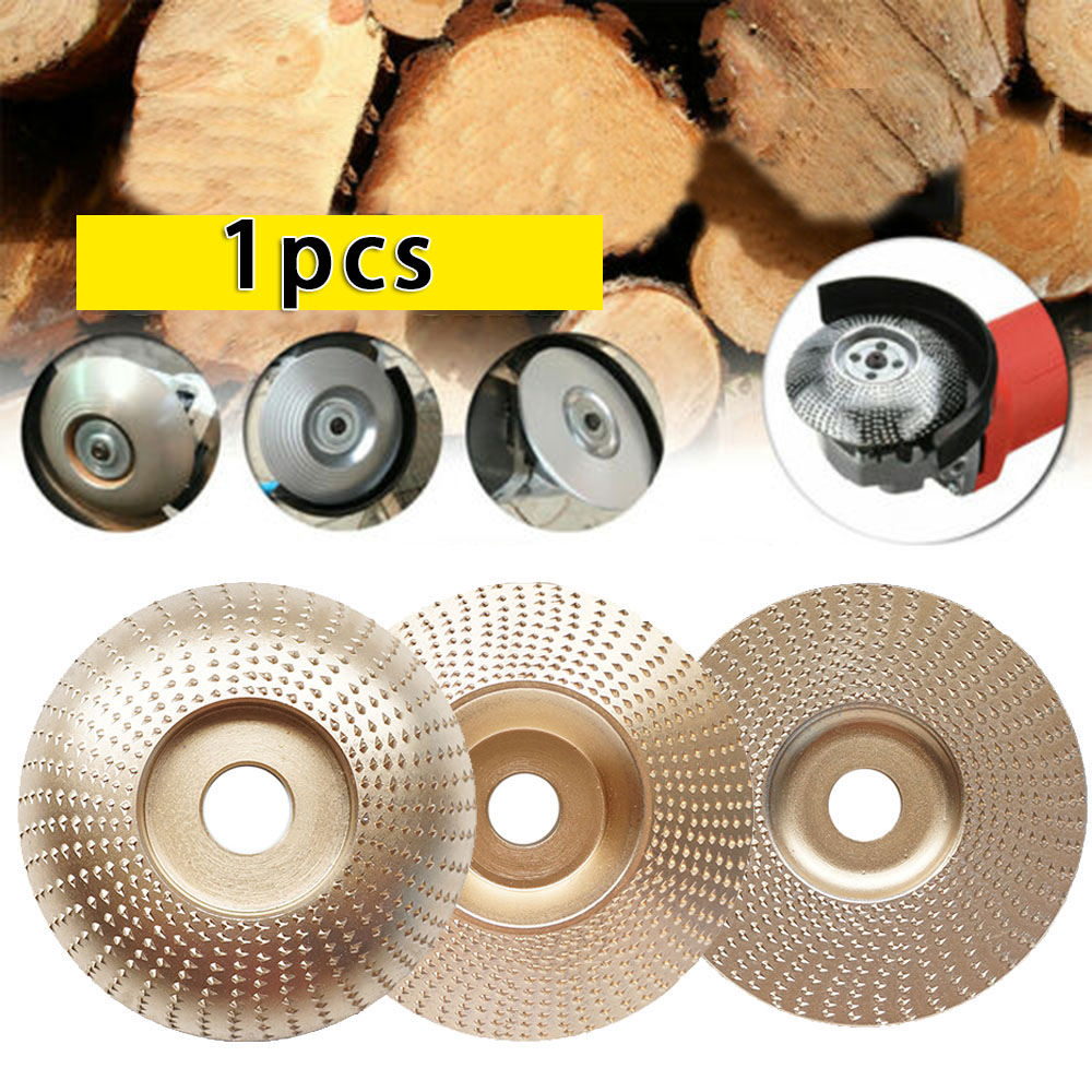 Angle Grinder Polishing Disc Grinding Wheel Shaping Carving Woodwork Abrasive Tools Bevel/Flat/Arc For Non-metal Materials/ Wood