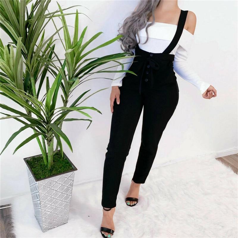 Belt Rompers Overalls For Women Dungarees Oversize Romper Women Jumpsuit Strap Solid Tracksuit Harem Trousers Playsuit Plus Size