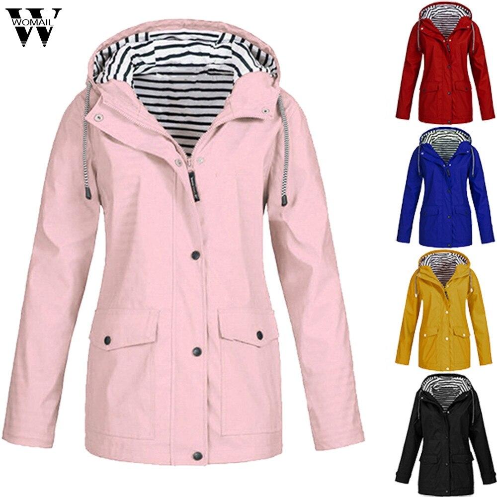 Womail женские куртки зима осень дамские с капюшоном открытый плащ ветровка на молнии водонепроницаемая верхняя одежда s 5xl Женское пальто 828|Куртки|   | АлиЭкспресс