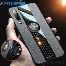 Finger Ring Case For Huawei Mate 20 P20 Pro P30 Lite Nova 3 3i 4 4e 5 5i Honor 8X Max 10 9X Silicone Frame Hard Cloth Cover