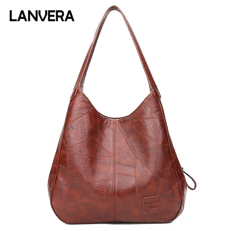 LANVERA Vintage Handbag Clutch Crossbody-Shoulder Medium Totes Messenger-Bags Evening-Purse