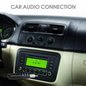 Image 5 - Kebidu taşınabilir Bluetooth4.1 alıcısı ses 3.5mm Jack Bluetooth araç kiti müzik adaptörü Mini araba AUX