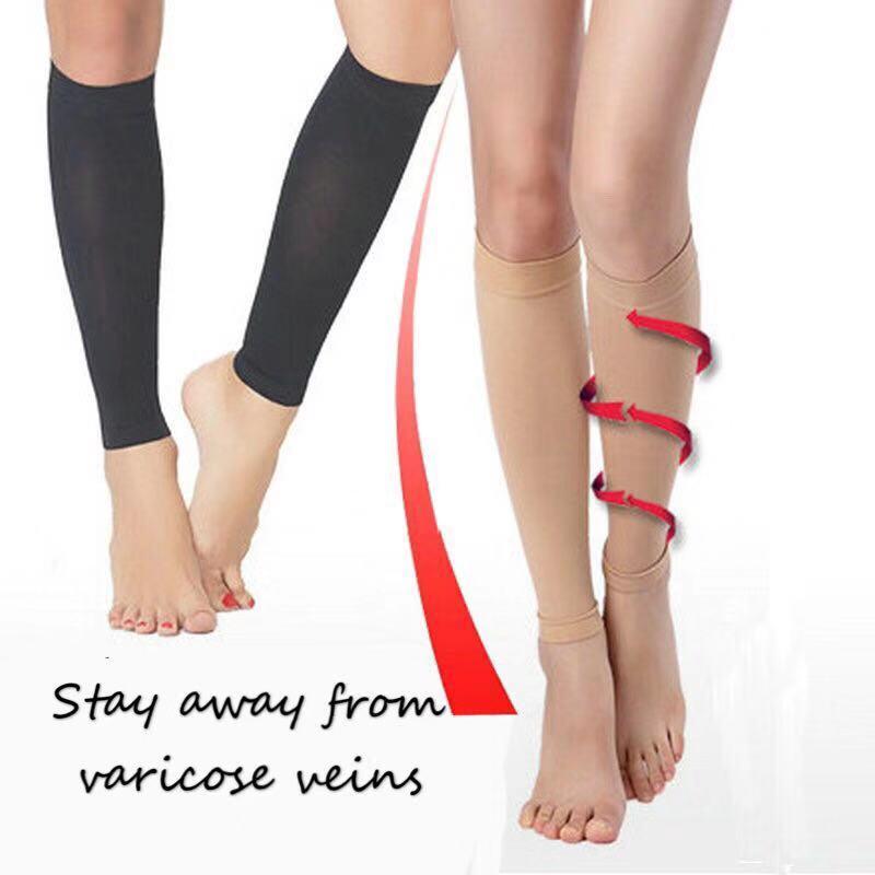 Medical Vein Anti-varicose Leg Sleeve Two Level Elastic Socks Compression Socks Sports Pressure Leg Protector