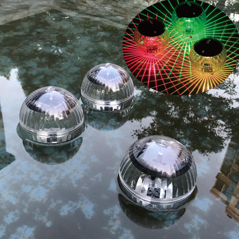 Multi-color Waterproof Ball Shaped Solar Floating Lamp Swimming Pool Lake Garden Home Lawn Decoration Spa Party Led Used Lights