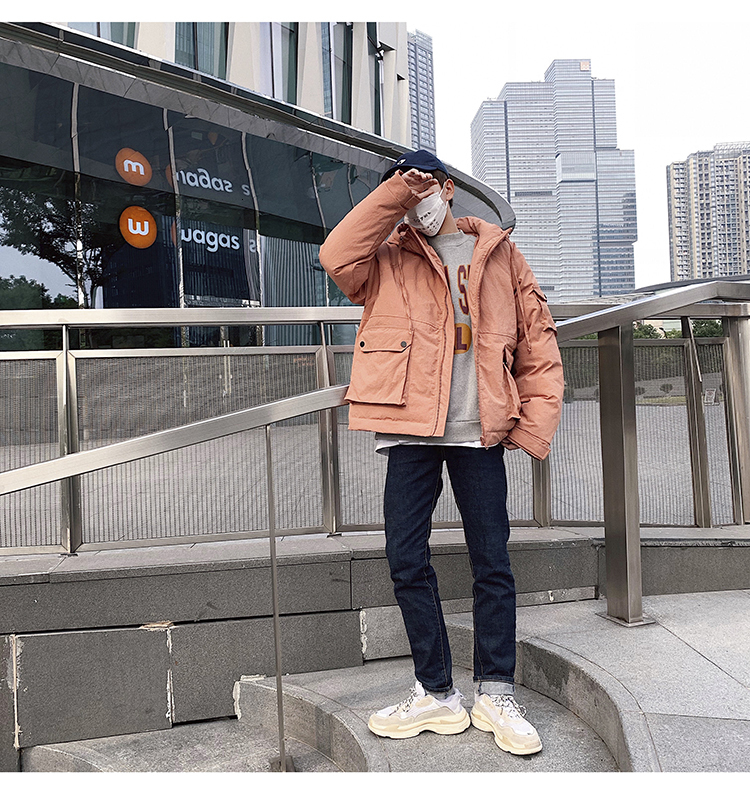 Men's Quality Student Winter Clothes Jacket Men Parka Thick Warm Outwear Korean Youth Streetwear Hip Hop Japan Style Harajuku 10