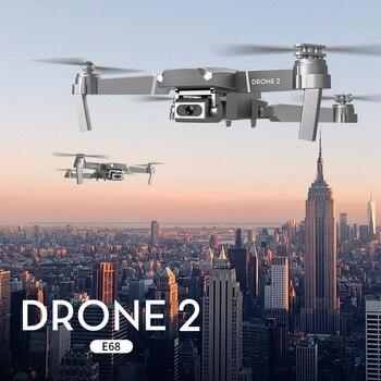 Mini WiFi 4K HD 1080P Camera RC Foldable Quadcopter Drone 2