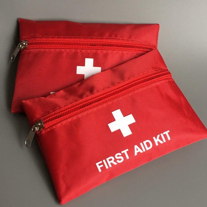 Novo saco de primeiros socorros esportes ao ar livre acampamento pílula casa mini médica saco de emergência sobrevivência kit primeiros socorros
