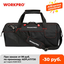 Organizer Bags Canvas-Tool Electrician-Bag Workpro-Tool Multifunction HVAC Waterproof