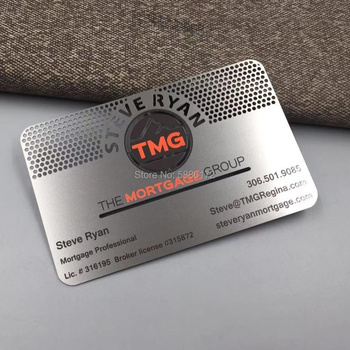 Low price stainless Steel metal business card,metal VIP card,bronzed metal cards for customized new arrival etching and cutting through stainless steel metal material metal etched business cards
