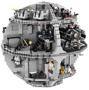 05035 05063 Звездные серии войны UCS Death Star развивающие строительные блоки кирпичи игрушки Lepining 10143 10188