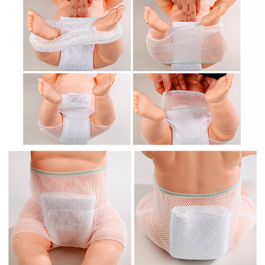 1PCS New Breathable Mesh Baby Training Pants/Baby Diaper/Reusable Nappy/Washable Diapers/Cotton Learning Pants/Same Style Bibs