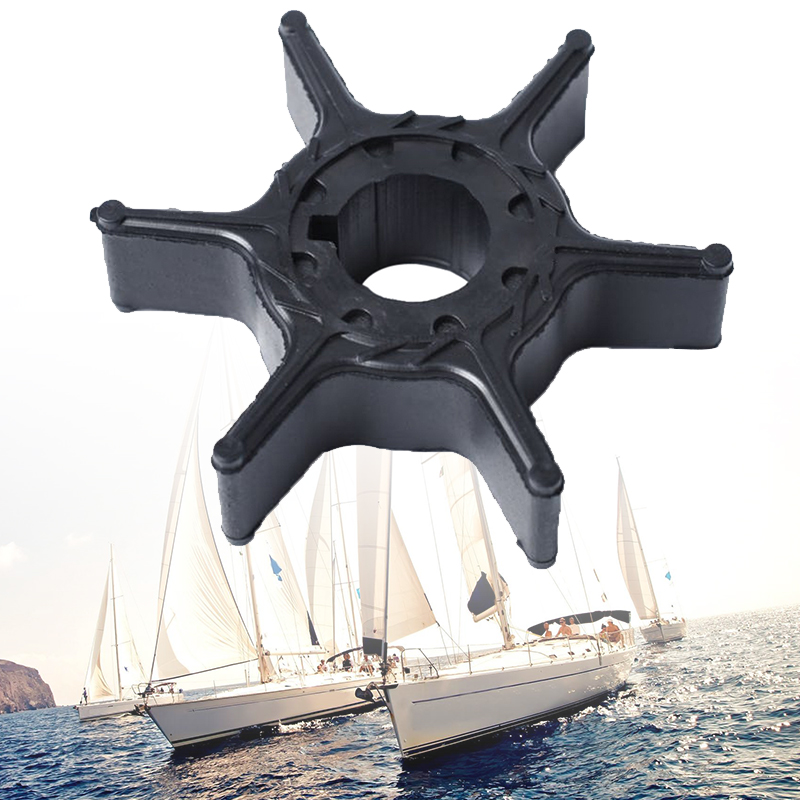 Boat Water Pump Impeller 6 Blade For Hidea 2 Stroke 9.9/15HP 4 Stroke 8/9.9/15/20HP Outboard Motor 2.1*2.1*0.6″ 63V-44352-01-00
