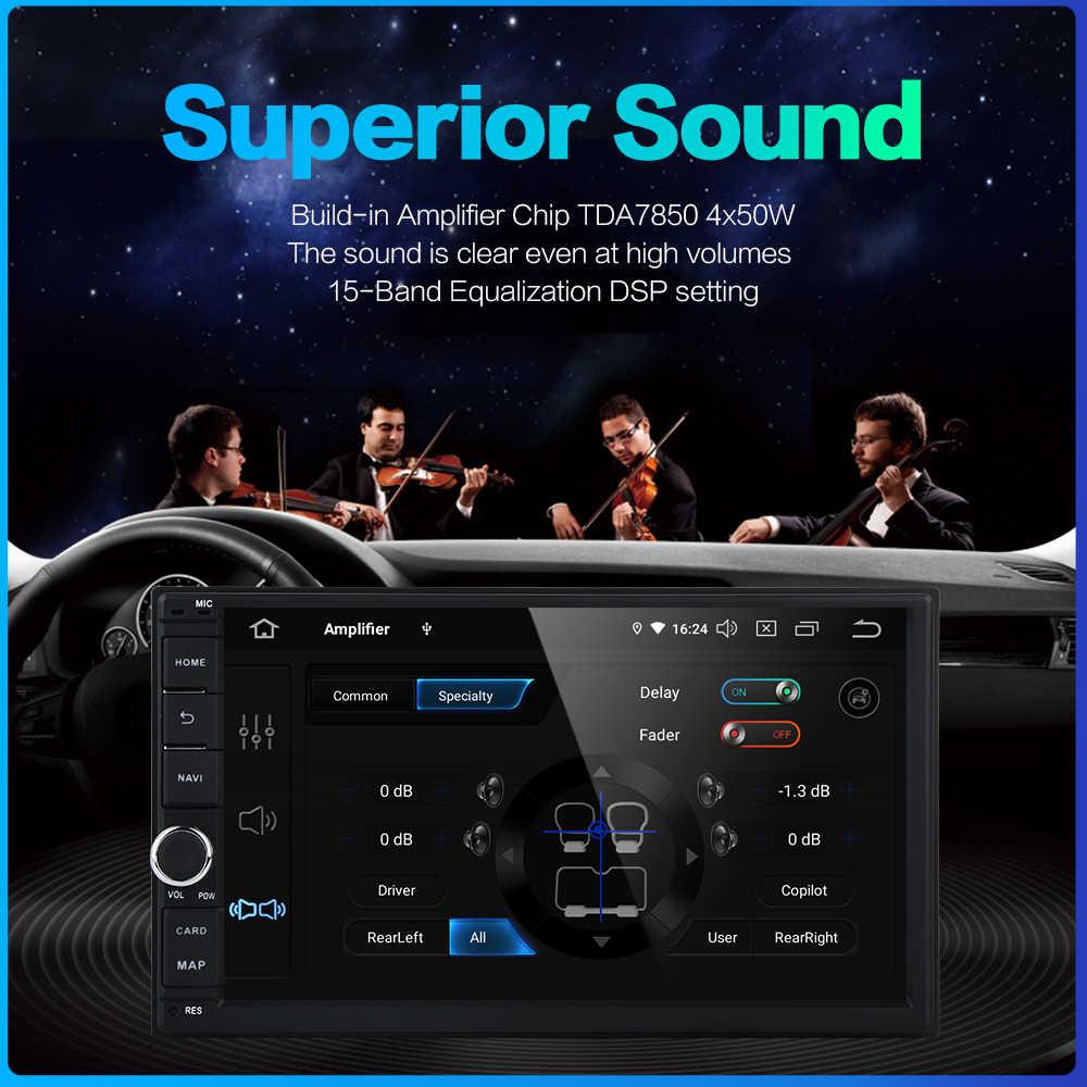 """Dasaita 7 """"Android 9,0 Octa Core 4G + 64G doble Universal 2 Din para Nissan auto Audio estéreo navegación GPS Radio coche Multimedia"""