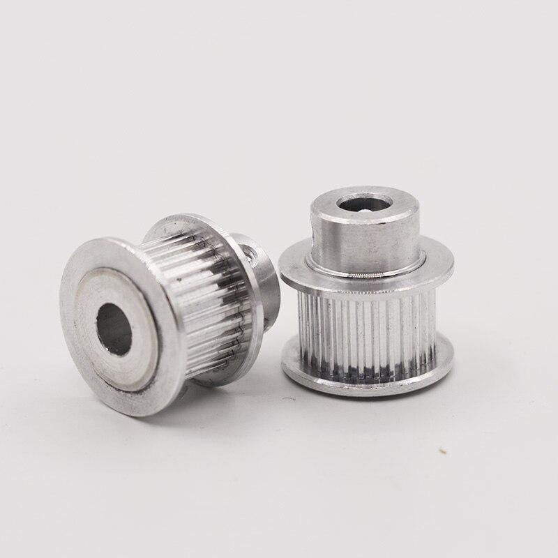 Mxl tipo 36 t 36 dentes 5/6/6.35/7/8/10/12mm diâmetro interno 2.032mm passo 7/11mm largura da correia polias sincronizadas síncronas