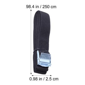 Image 4 - 6Pcs מצליף רצועות עם אבזם ניילון מהיר שחרור מצליף רצועות עבור מטענים לכבול רכב גג מתלה מטען קיאק carrier נע