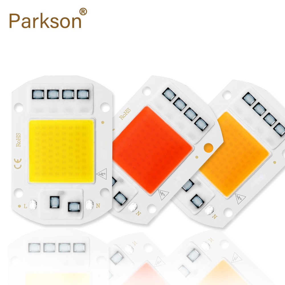 <font><b>Cob</b></font> <font><b>Led</b></font> Chip 220V The Seeds Lamp Flood Diode <font><b>110V</b></font> 10W 20W 30W 50W For Spotlights Panel Lampara Light No Need Driver Smart Fortwo image