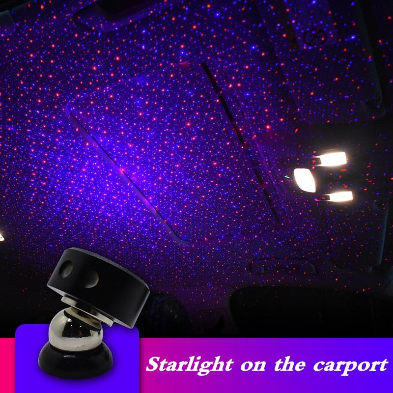 Car Led Light USB LED Atmosphere Ambient 12v 24v Colorful Star for Home Bedroom DJ Interior Decorative