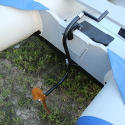 Hand Propeller Marine Rubber Boot Peddel Hand Motor Propeller Handleiding Propeller Hand Powered Buitenboordmotor