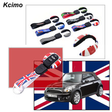 Abs Remote Start Key Cover Key Fob Case Shell With Keychain Ring Belt For 3Rd Gen Mini Cooper One S Jcw F54 F55 F56 F57 F60